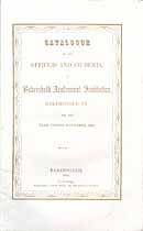 Thumbnail image of Bakersfield Academical Institution 1850 Catalogue cover