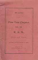 Thumbnail image of Pine Tree Chapter R. A. M. 1900 Members cover