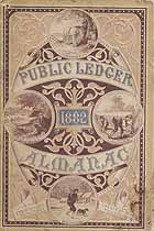 Thumbnail image of Public Ledger Almanac 1882 cover