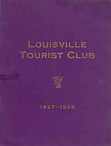 Thumbnail image of Louisville Tourist Club 1927-1928 cover