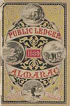 Thumbnail image of Public Ledger Almanac 1889 cover