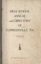 Thumbnail image of Curwensville 1922 Directory cover