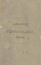 Thumbnail image of Tufts College 1888-89 Catalogue cover