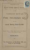 Thumbnail image of Vermont Mutual Fire Ins. 53rd Annual Report cover