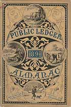 Thumbnail image of Public Ledger Almanac 1891 cover
