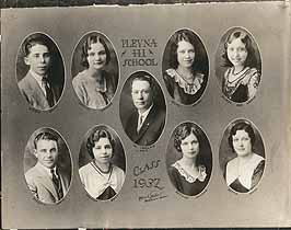 Thumbnail image of Plevna High School 1932 Composite Photo cover