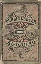Thumbnail image of Public Ledger Almanac 1880 cover