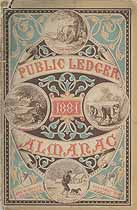 Thumbnail image of Public Ledger Almanac 1881 cover