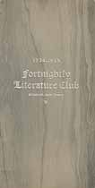 Thumbnail image of Elizabeth Fortnightly Literature Club 1934-35 Program cover