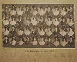 Thumbnail image of Graduating Class of 1905 Composite Photo cover