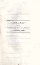 Thumbnail image of Bangor Theological Seminary 1840 Anniversary Program cover