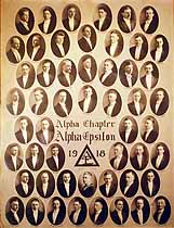 Thumbnail image of Alpha Epsilon 1918 Alpha Chapter Composite Photo cover