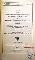 Thumbnail image of American Instructors of the Deaf 1955 Necrology cover
