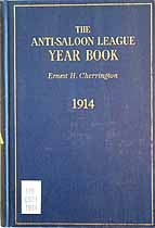 Thumbnail image of The Anti-Saloon League 1914 Year Book cover