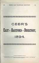 Thumbnail image of Geer's East Hartford 1894 Directory cover