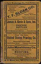 Thumbnail image of Paterson N. J. 1929 City Directory cover