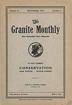 Thumbnail image of Granite Monthly 1919 September Necrology cover