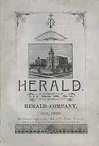 Thumbnail image of Ohio Normal University 1887 Herald, Vol. 2, No. 10 cover