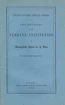 Thumbnail image of Perkins' Institution and Massachusetts Asylum for the Blind 1859 Report cover