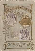Thumbnail image of Hartford St. U. B. Sunday School 1904 Christmas Souvenir cover