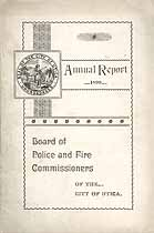 Thumbnail image of Utica Police and Fire Company 1899 Rosters cover