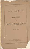 Thumbnail image of Hartford Orphan Asylum 1893 Report cover