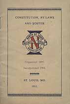 Thumbnail image of North St. Louis Business Men's Association 1912 Roster cover