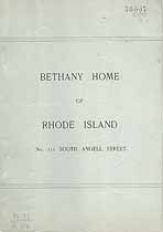 Thumbnail image of Bethany Home of Rhode Island 1895 Report cover