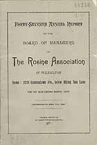 Thumbnail image of The Rosine Association of Philadelphia 1894 Report cover