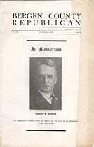 Thumbnail image of Bergen County Republican 1931 October Issue cover