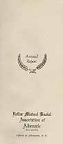 Thumbnail image of Lefler Mutual Burial Association of Albemarle 1947 Report cover