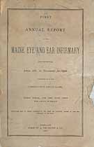 Thumbnail image of Maine Eye and Ear Infirmary 1886 Officers cover
