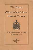 Thumbnail image of Vermont Soldiers' Home 1908-1910 Officers cover