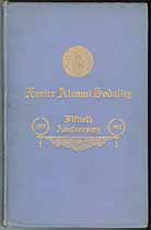 Thumbnail image of Xavier Alumni Sodality 1913 Anniversary Souvenir cover