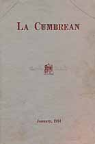 Thumbnail image of La Cumbrean 1934 January cover