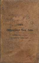 Thumbnail image of Greene County, Tenn., 1892 Delinquent Tax List, District 6 cover