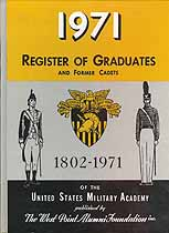 Thumbnail image of United States Military Academy 1971 Milestones cover