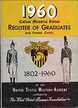 Thumbnail image of United States Military Academy 1960 Milestones cover