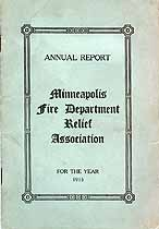 Thumbnail image of Minneapolis Fire Department Relief Association 1915 Report cover