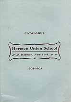 Thumbnail image of Hermon Union School 1904-1905 Catalogue cover