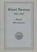 Thumbnail image of Medford 1921-1922 School Directory cover
