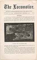 Thumbnail image of The Locomotive 1892 (September) Steam Boiler Insurance Newsletter cover