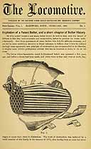 Thumbnail image of The Locomotive 1880 (February) Steam Boiler Insurance Newsletter cover