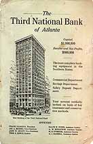 Thumbnail image of The Third National Bank of Atlanta 1912 Advertisement cover