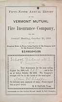 Thumbnail image of Vermont Mutual Fire Ins. 59th Annual Report cover