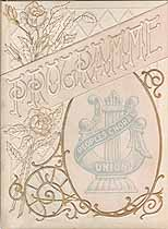 Thumbnail image of New York People's Choral Union 1895 Program cover