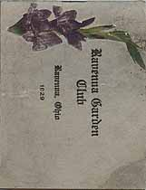 Thumbnail image of Ravenna Garden Club 1929 cover