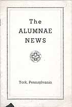 Thumbnail image of York Hospital School of Nursing 1938 Alumnae News cover