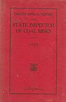 Thumbnail image of Colorado Inspector of Coal Mines 1920 Report cover