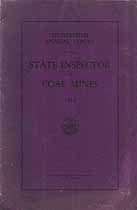 Thumbnail image of Colorado Inspector of Coal Mines 1930 Report cover